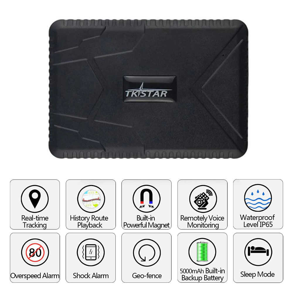 The Best Quality TK915 Car GPS tracker Waterproof Realtime tracking Builtin Battery GSM Tracking Device with magnet 10000mah long standby Made In China Factory